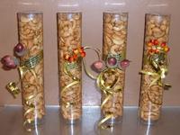 Notenstaaf met cashew noten