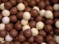 Chocolade rijstballen