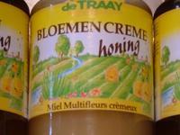 Bloemenhoning crème