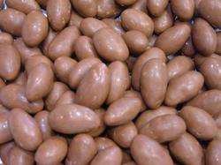 Chocolade amandelen melk