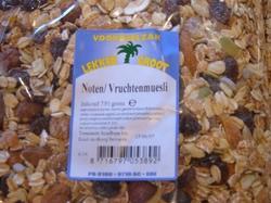 Muesli noten vruchten